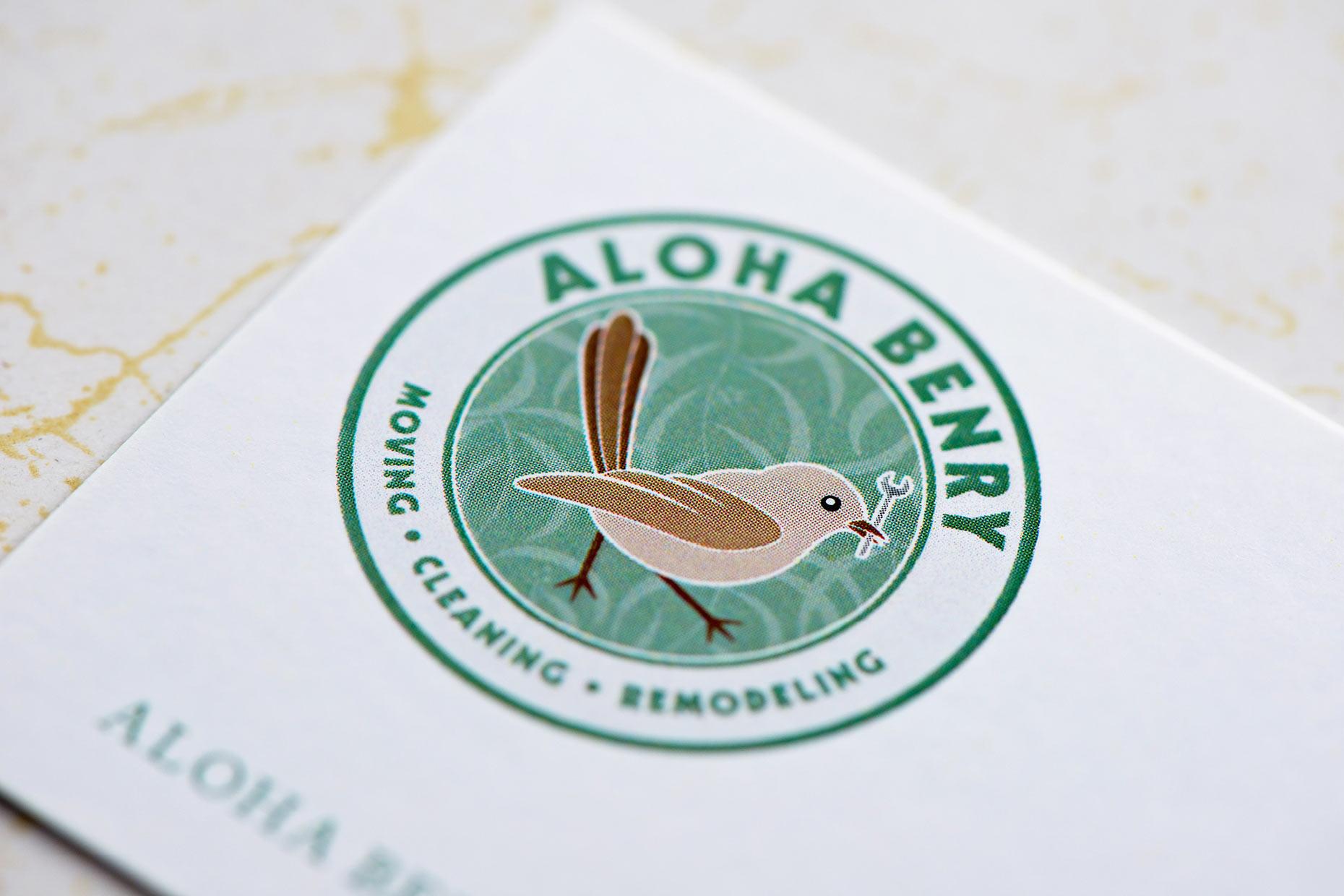 Aloha Benry logo