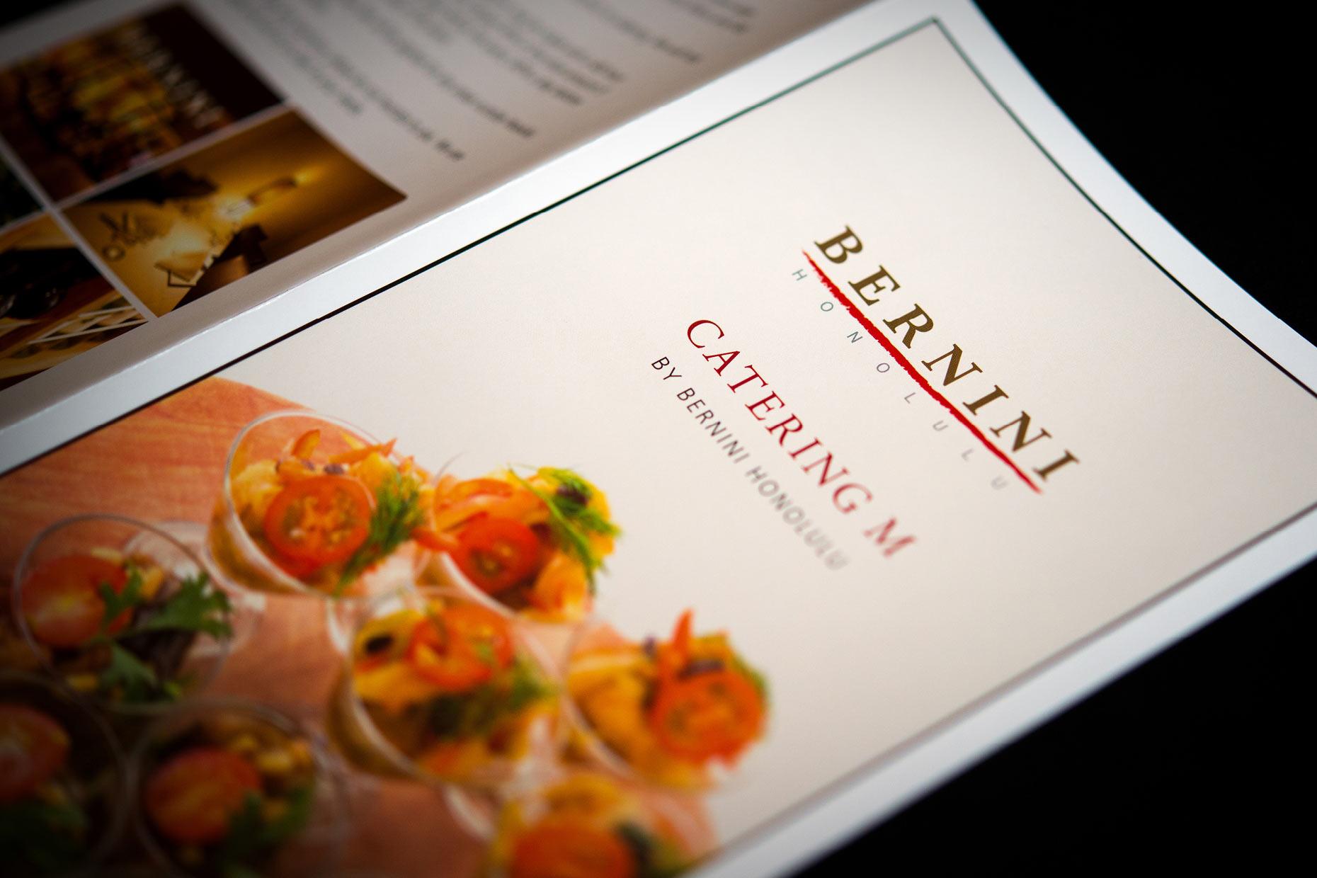 Bernini Honolulu menu