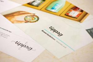 Tippsy Sake brand guidelines