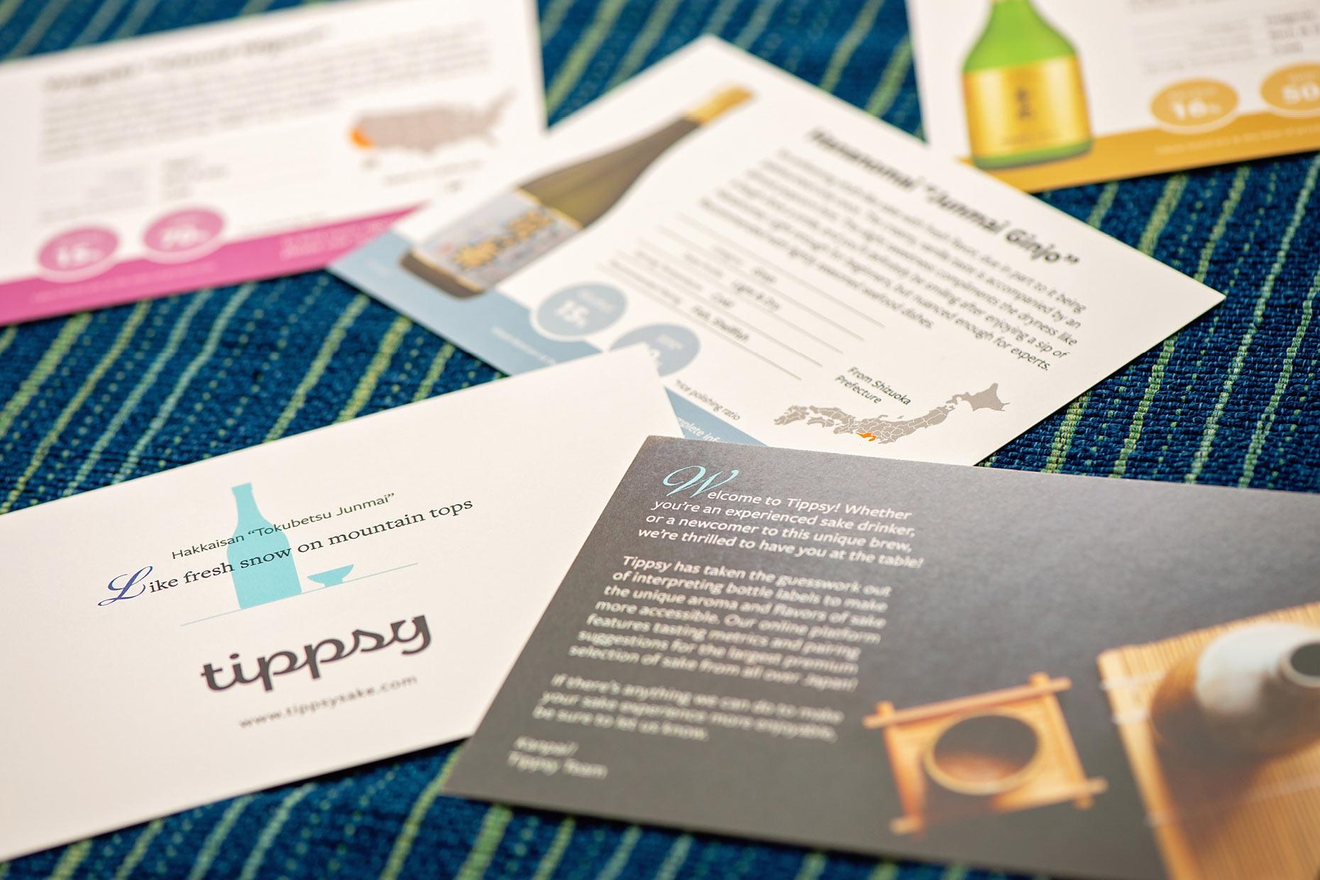 Tippsy Sake cards