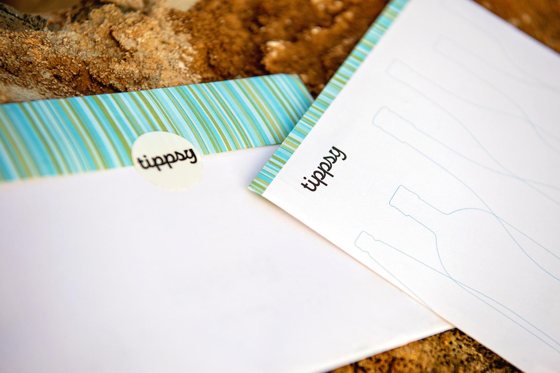 Tippsy Sake envelope