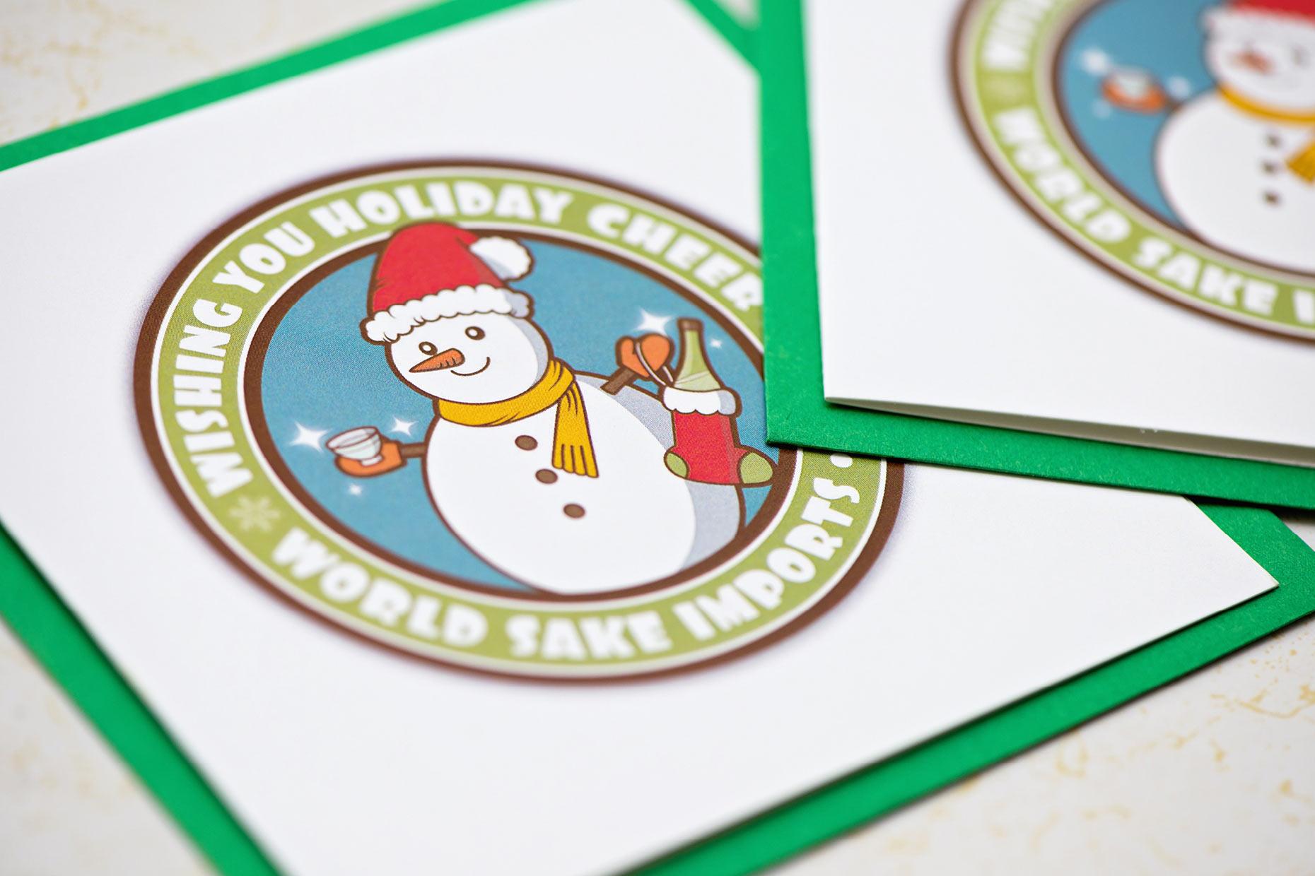 World Sake Imports holiday card