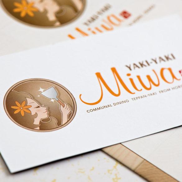 Yaki-yaki Miwa card