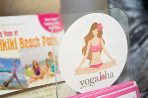 Yogaloha Hawaii sticker