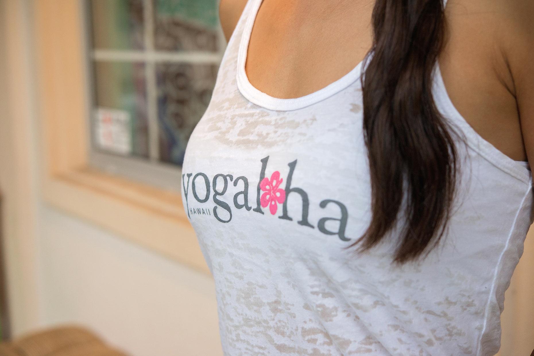 Yogaloha Hawaii tank top